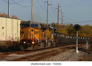Norfolk Southern empty coal train #533