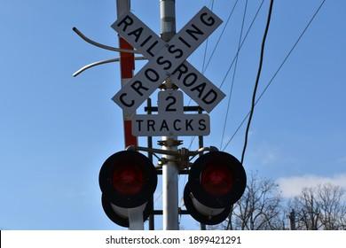 Norfolk Southern Railroad Crossing signal