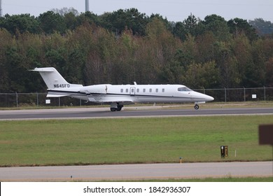 Norfolk, Virginia/USA - 10 28 2020: LEARJET INC 45 owned by Family Dollar Inc