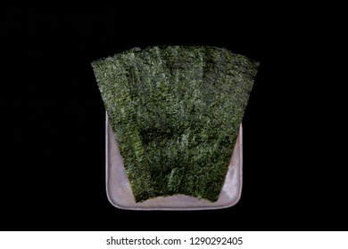 Nori: Nori is the Japanese name for edible seaweed.
