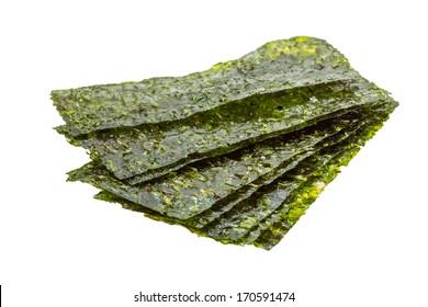 Nori sheets isolated