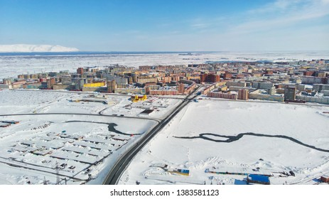 Norilsk city of Russian country