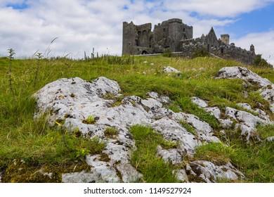 Norman Castle Ruins in Ireland