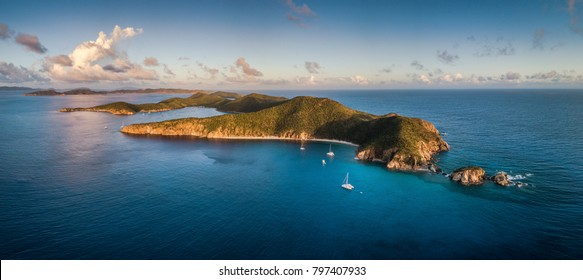 Norman Island in the British Virgin Islands