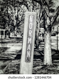 Norman Norm Street Sign Name