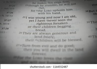 Psalm 37 Images, Stock Photos & Vectors | Shutterstock