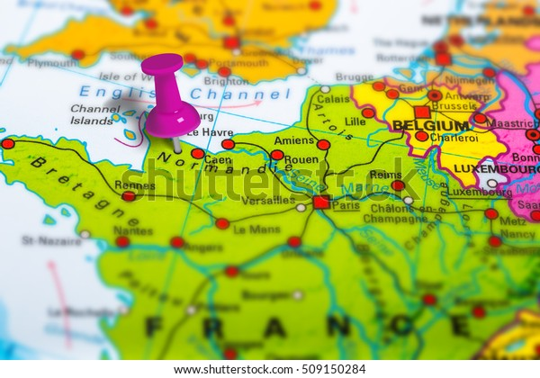 Norman France Pinned On Colorful Political Stock Photo ... on large map of europe, artistic map of europe, old world map of europe, generic map of europe, printable geographic map of europe, linguistic map of europe, environment map of europe, political map of europe, industrial map of europe, show me a map of europe, military map of europe, ecological map of europe, tactical map of europe, cultural map of europe, global map of europe, international map of europe, historical map of europe, future map of europe, legal map of europe,