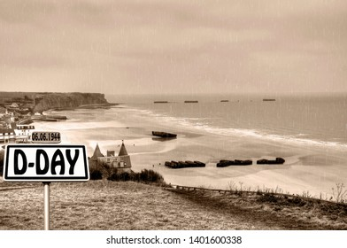 Normandy Arromanches Gold beach d day