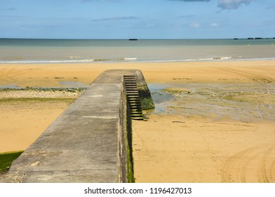 Normandy D-Day Landing Beaches and World War II Sites: Arromanches, France