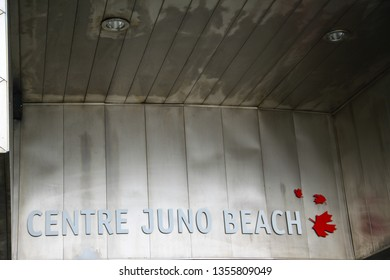 Normandy, France; 4 June 2014: Centre Juno Beach