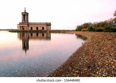Normanton Church at Rutland Water Reservoir
