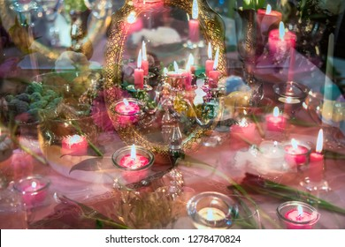 Norooz persian table decoration spring celebration