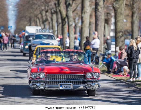 Cadillac Eldorado 2017 >> Norrkoping Sweden May 1 Cadillac Eldorado Transportation