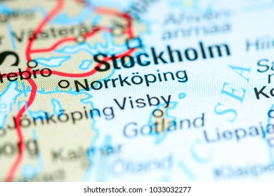 Parnu Estonia On Map Stock Photo Royalty Free 1033033015