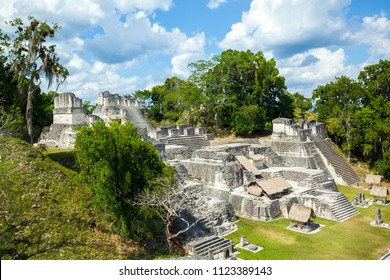 The North Acropolis of the ancient Maya city of Tikal in Guatemala is an architectural complex that served as a royal necropolis.It was a centre for funerary activity.