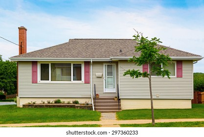 North American bungalow from the seventies.