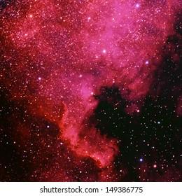 The North American Nebula, NGC 7000