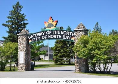 North Bay City signage