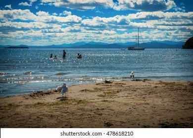 North Beach, Lake Champlain, Burlington, VT