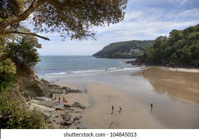 North Beach, Salcombe, Devon, England