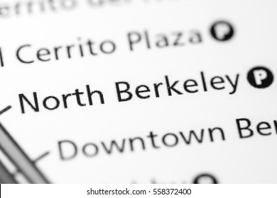 North Berkeley Station. San Francisco Metro map.