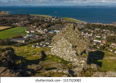 North Berwick, East Lothian / Scotland (UK) - September 27, 2019: View from North Berwick Law.