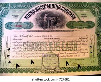 north butte certificate