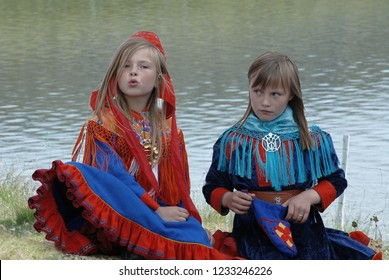 North Cape. Norway. Europe. 24/08/2006. Uses and customs of the Sami people.