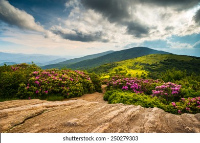 North Carolina Appalachian Trail Spring Scenic Mountains Landscape hiking in the Blue Ridge Mountains of Western NC and Eastern Tennessee