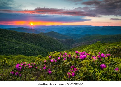 Blue Ridge Mountains North Carolina Images Stock Photos