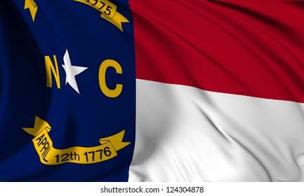 North Carolina flag - USA state flags collection no_3