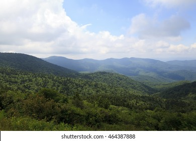 North Carolina Mountains in the Summertime