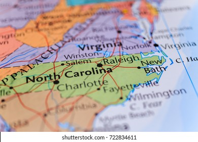North Carolina Map Images, Stock Photos & Vectors | Shutterstock