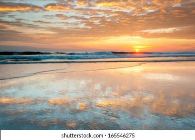 North Carolina Outer Banks Cape Hatteras National Seashore Beach Sunrise