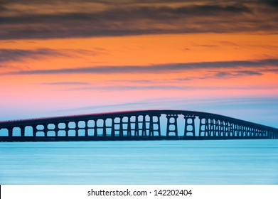 North Carolina Outer Banks Herbert Bonner Oregon Inlet Bridge