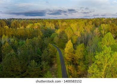 North Carolina, Raleigh Area, Aerial photo