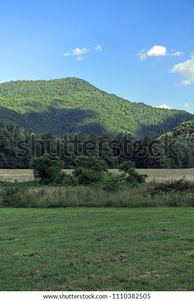 North Carolina Smoky Mountains inside Cherokee reservation