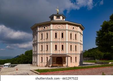 North Caucasus. Assumption Varoufakis Beshtaugorsky monastery. Fraternal body