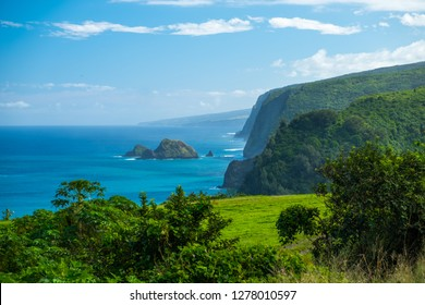 North Coast of the Big Island, area near the Pololu valley, Hawaii
