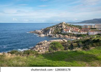 North coast of Corsica, France