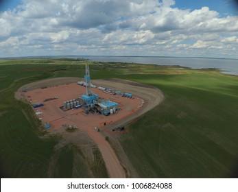 North Dakota Drilling rig