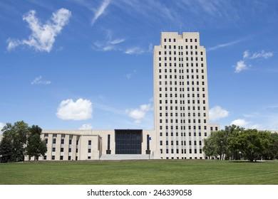 North Dakota State Capital, Bismarck, ND