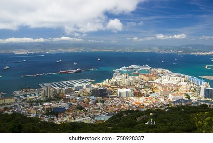 North district of Gibraltar and Algeciras, Gibraltar, British Overseas Territories