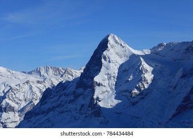The north face of the Eiger mountain is one of the most notoriously difficult and deadly climbs in Europe.  It is in the Jungfrau region of Switzerland, near the village of Murren.