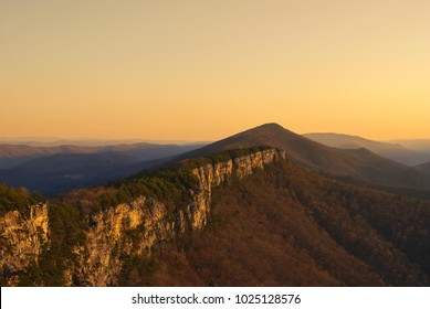 North Fork Table Mountain in West Virginia. Monongahela National Forest.