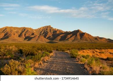 North Franklin Mountain in El Paso