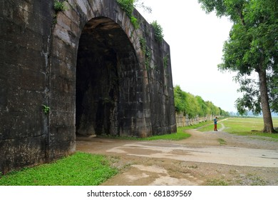 North gate of Ho citadel in Thanh Hoa,Vietnam