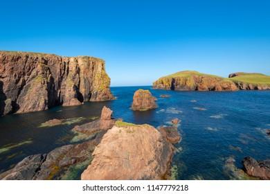North Ham on Shetland Islands