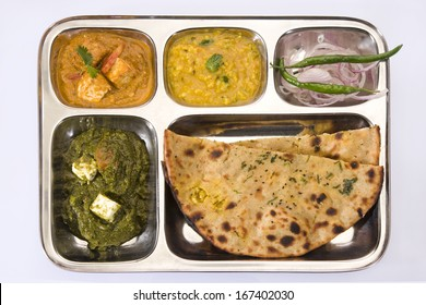 North Indian Thali