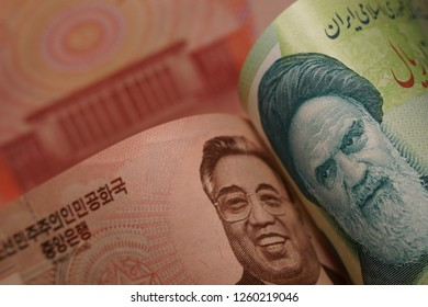 North Korea and Iran, through their leaders, symbolize economic and political cooperation in the Asian region. For articles about politics and international relations. Iran and Korea great friends.